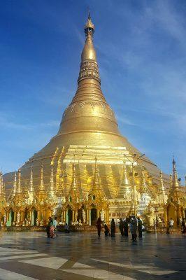 Golden Shwedagon In Yangon