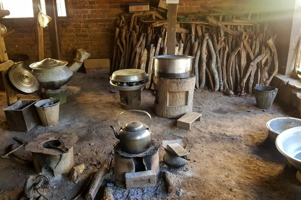 Kitchen In A Traditional House