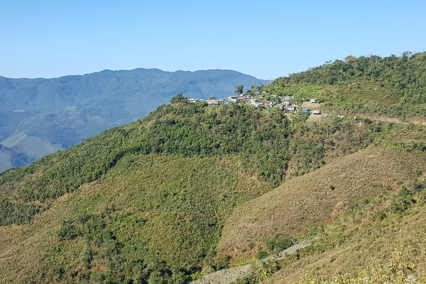Village In Northern Chin State