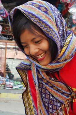 Burmese Girl In Chin State