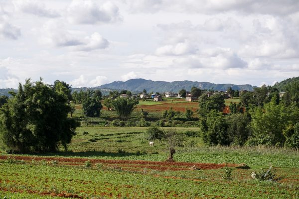 Landscape Seen On The Pindaya Trekking Tour, Myanmar