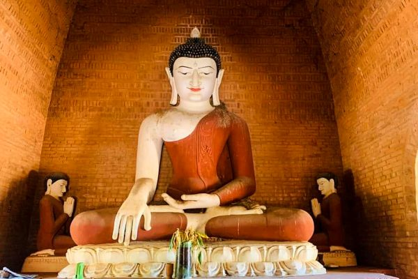 Big Buddha Statue In Myanmar