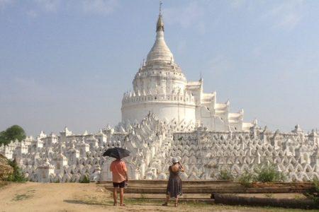 Hsinbyume Pagoda In Mingun Near Mandalay