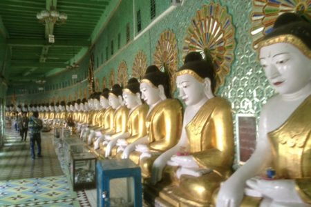 Budda Statues In Mandalay