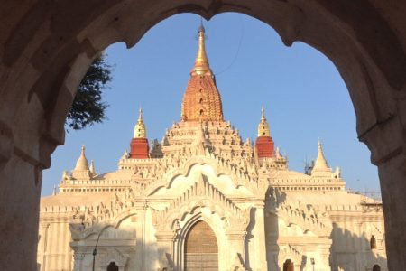 Ananda Temple In Bagan
