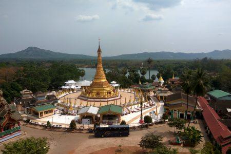 Pagoda In Mawlamyine