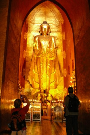 Buddha Statue In Mandalay