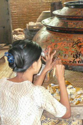 Handicraft In Bagan