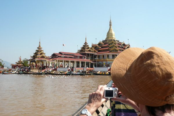 Phaung Daw Oo Pagoda On The Inle Lake
