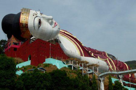 Win Sein Taw Ya, Reclining Buddha
